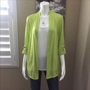Notations Lime & White Top